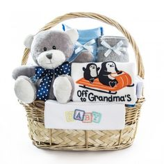 cos cadou cu pantalon, bluze si body pentru nou nascut baiat Cos, Children, Kids, Child, Babys, Babies