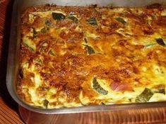 Zucchini flan: the best recipe Food Ham Recipes, Vegetable Recipes, Vegan Recipes, Vegetarian Zucchini Lasagna, Pesto, Mango Pudding, Instant Pudding, Food Dishes, Good Food