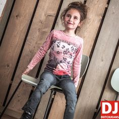 Prachtige meisjes outfit uit de nieuwe wintercollectie 2016/2017 van DJ Dutchjeans. #djdutchjeans #kinderkleding #wintercollectie