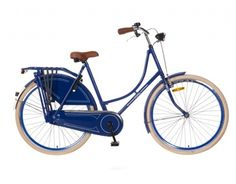 Omafiets Popal Omafiets Blauw Special Edition 28 Inch