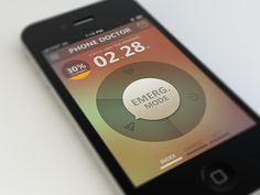 UI design of a mobile interface can really have a profound effect on a smartphone user. It can make or break an app. I know I will not use an app unless it News Web Design, Ui Ux Design, Iphone App, Application Ui Design, Make Up Guide, Conception D'applications, Ui Patterns, Smartphone, User Interface Design