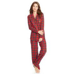 Plaid Cotton Pajama Set - Lauren Sleepwear & Robes - RalphLauren.com