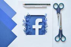 Paper Facebook Logo on Behance
