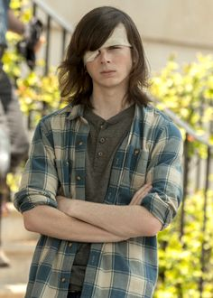 (FC:Chandler Riggs) Hey I'm Austin. I'm Meg's son(by blood) but She kicked me out when I was 14. I'm 19 now and I haven't seen my mom in years. I'm half demon FYI, but I'm also a hunter. I like classic rock, pie, and cars. Come say hi.