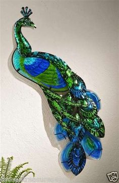 images about PEACOCK metal art on Pinterest