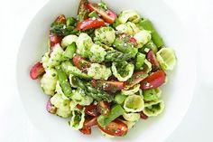 Pasta, Asparagus and Marinated Tomato Salad | Picnic Ideas For Summer On Your Homestead