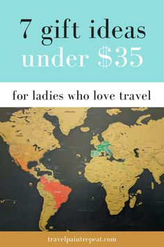 Inexpensive cute travel-themed gift ideas