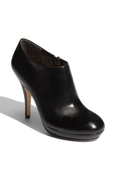 Via Spiga Bootie. Looking for something similar to this but with a slightly wider heel.