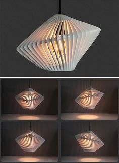 The LightCAGE is a lamp which is exactly what it sounds like.