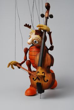 Bassist marionette