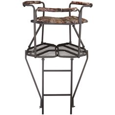 Blackout Swivel Hard Arm Chair Hunting Blinds Treestands