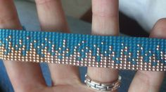 Loom beaded bracelet by Suusjabeads on Etsy