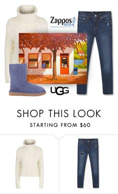"""The Icon Perfected: UGG Classic II Contest Entry"" by patricia-dimmick on Polyvore featuring MANGO, ADAM, UGG Australia, Boots, Sweater, ugg, contestentry and cableknit"