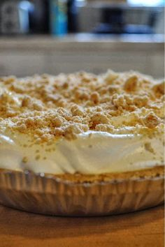 Mrs. Salter's Peanut Butter Pie | Cook'n is Fun - Food Recipes, Dessert, & Dinner Ideas