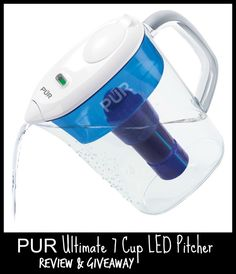 PUR Ultimate 7 Cup LED Pitcher Review & Giveaway (US) 5/31