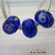 $1.39    Bright Blue and green Lampwork Murano Glass Beads Silver Spacer Fit Bracelet http://www.eozy.com/bright-blue-and-pink-lampwork-murano-glass-beads-silver-spacer-fit-bracelet.html