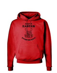 TooLoud Happy Easter Everybunny Hoodie Sweatshirt