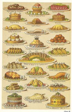 "Victorian Cookbook - ""Mrs Beeton's Everyday Cookery"""