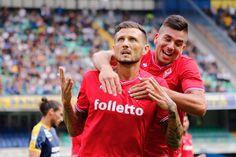Fiorentina, Cyril Thereau y Giovanni Simeone