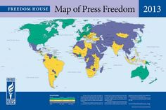 Freedom House - Google+ - The percentage of the global population living in count...