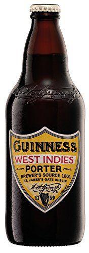 Guinness West Indies Porter Beer 500 ml (Case of 8)