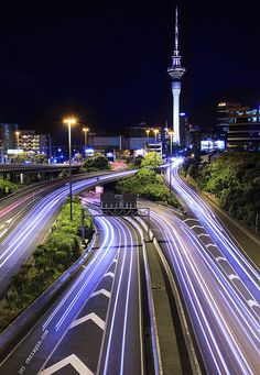 Auckland, New Zealand Spaghetti Junction 2 by Chris Gin Places Around The World, The Places Youll Go, Places To See, Around The Worlds, New Zealand North, Auckland New Zealand, Beautiful World, Beautiful Places, Amazing Places