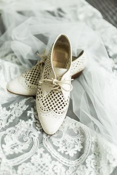 Vintage inspired wedding shoes from Newfoundland wedding photographer Maddie Mills Photo Newfoundland St Johns, Wedding Vows, Wedding Day, Swing Dancing, Lakeside Wedding, Love Is Sweet, Vintage Inspired, Oxford Shoes, Pure Products