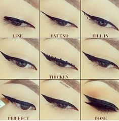 how to do your eye-liner