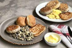 McDonald's Inspired Hearty Big Breakfast 2 Ways Breakfast Ideas, Breakfast Recipes, Asian Food Channel, Grape Jam, Chicken Patties, English Muffins, Stuffed Mushrooms, Stuffed Peppers, Food Tasting