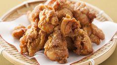 """Tori no kara-age"" (pollo frito al estilo japonés)"