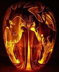 Now that's what I call a jack-o-lantern!