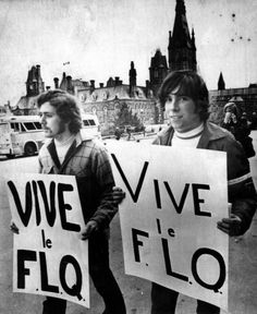 The FLQ was a terrorist group in Quebec and kidnapped a politician and a British diplomat which then introduced the dark era of Canada with then thousands arrest in this time period many organizations rose up but under the arrogant but effective reign of Pierre Elliot Trudeau they eventually dissolved to nothing.