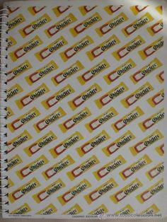 LIBRETA ESPIRAL CHICLETS. AÑOS 70-80. NUEVA