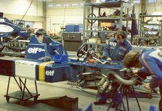 1976 Tyrrell P34 6-Wheeler   Taken on a workshop visit. Apol…   Flickr