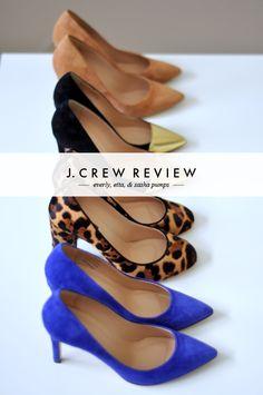 J.Crew Pump Review