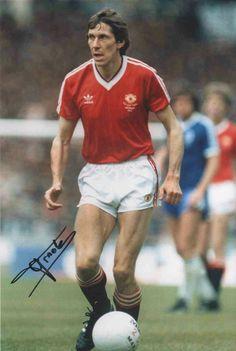 Arnold Muhren of Man Utd in 1983.