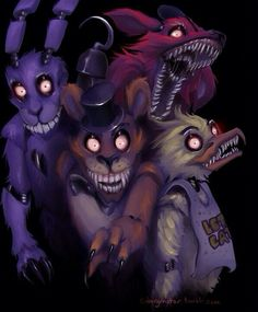 Five Nights at Freddie's... SO I PLAYED THIS... I WANT TO CRY FOREVER... OMG...
