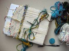 Ruth's weaving projects: Little bags