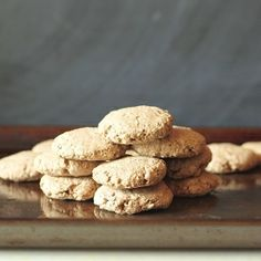 Really quick & easy banana baby cookies. Gluten-free, and no added sugar!