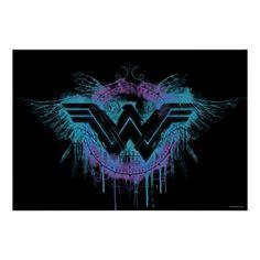 Wonder Woman | Feather Logo Poster