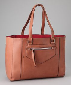 Take a look at this Pink Classic Satchel by David Jones on #zulily today!  I love this one too!  $26