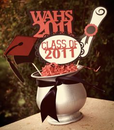 High School Graduation Party Ideas | ... are many great graduation centerpiece ideas that can boost your party