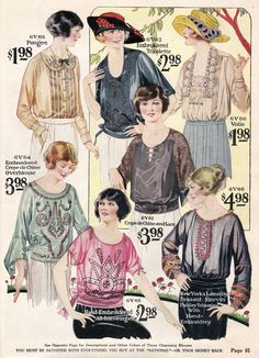 1922 Spring/Summer Catalog, National Cloak & Suit Co., page 61
