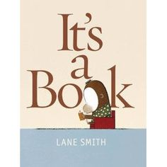 It's A Book! [Illustrated] [Paperback]