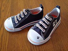 Geranimals Blue Canvass Kids Sports Casual Canvas Sneakers Slip On Toddler Sz 5 #Garanimals #Athletic