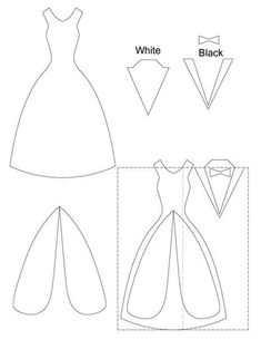 Wedding Dress Template for Invitations New Wedding Nail Designs Wedding Card Template Wedding Anniversary Cards, Wedding Cards, Wedding Nail, Dress Card, Diy Dress, Wedding Card Templates, Card Patterns, Felt Patterns, Card Sketches