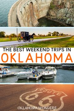 Need the best weekend trips in Oklahoma? From cool cities to state parks to small towns, here's your Oklahoma getaway bucket list! weekend getaways in Oklahoma Usa Travel Guide, Travel Usa, Travel Tips, Travel Destinations, Romantic Getaways In Oklahoma, Oklahoma City Things To Do, Costa Rica, Romantic Weekend Getaways, Travel Oklahoma