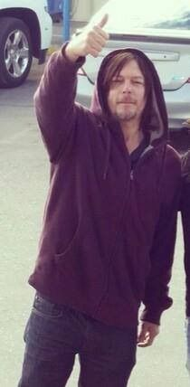Unusual choice of finger for norman