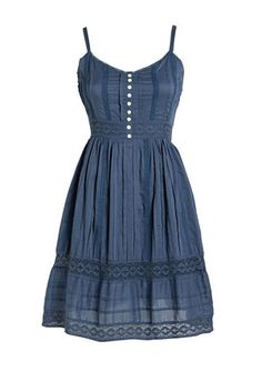 Such a cute summer dress! wear a pair of tan cowboy boots and it would be a cute outfit :)