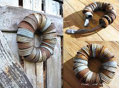 Mason Jar Crafts — Mason Jar Lid Wreath DIY Craft Tutorial | #craft #masonjars via Put it in a Jar (putitinajar.com)